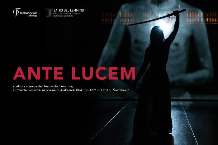 Prima dell'alba: sguardo sull'Ante Lucem del Teatro del Lemming