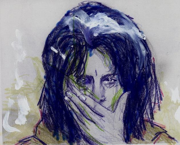 Anna Magnani vista da Renzo Francabandera