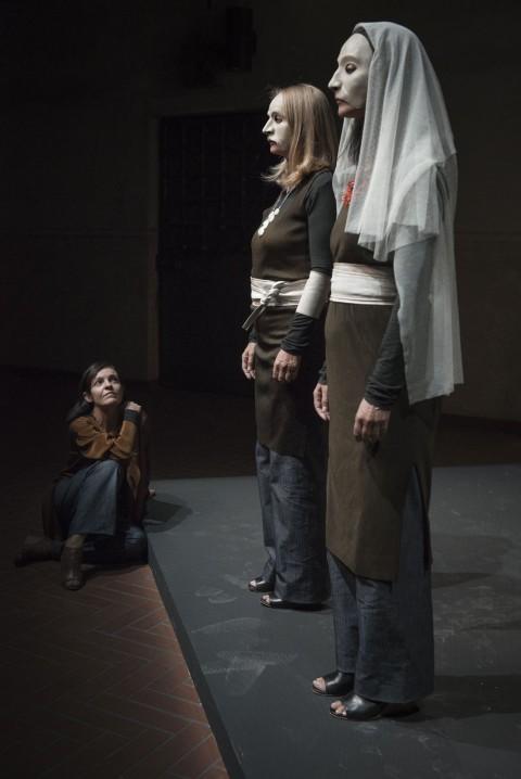 Monica Demuro, Daria Deflorian e Monica Piseddu @ Duccio Burberi