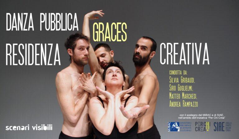 """""""Danza pubblica/Graces"""", ovvero l'energia creativa in una residenza online"""