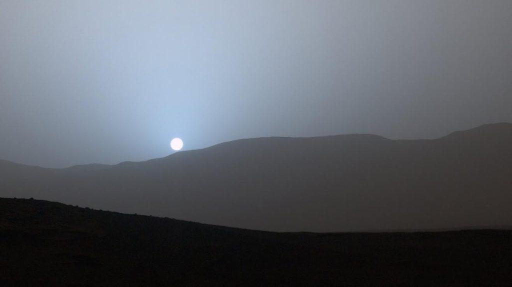 Ivaldi tramonto Marte